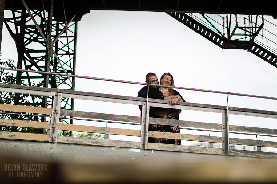 Milwaukee engagement shoot